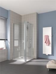 KERMI - Cada XS stříbrná lesk  kyvné dveře, panty vlevo 900/2000 ESG Serigrafie  s CadaClean CC1WL09020VVK (CC1WL09020VVK)