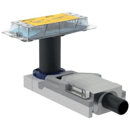 Geberit CleanLine CleanLine souprava-sifon v.65-90mm, pro sprchový žlábek, pro hrubou montáž 154.152