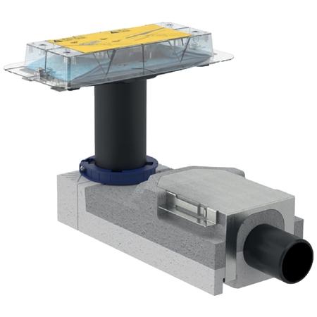 Geberit CleanLine CleanLine souprava-sifon v.90-200mm, pro sprchový žlábek, pro hrubou montáž 154.15