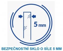 PARAVAN K VANĚ EASY NEW JEDNODÍLNÝ 140X70cm (S301-289), fotografie 10/10