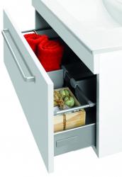 Dřevojas - Organizér zásuvky 125 COLOR, VARIANTE (s umyvadlem Euphoria) (00540)