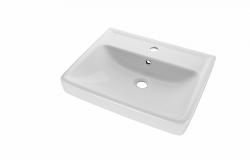 Dřevojas - Q 60 keramické umyvadlo - BÍLÉ (05538)