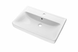 Q 70 keramické umyvadlo - BÍLÉ (05545) - Dřevojas