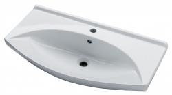 Dřevojas - DREJA PLUS 105 keramické umyvadlo - BÍLÉ (05347)