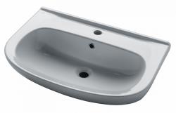 DAVID 65 keramické umyvadlo - BÍLÉ (05217) - Dřevojas