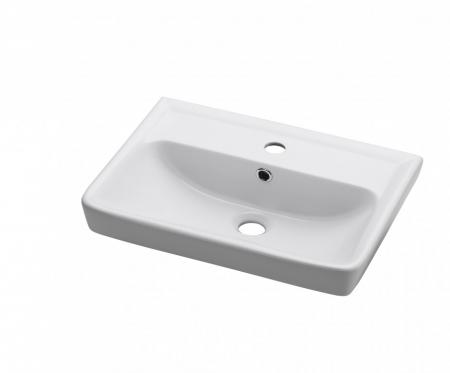 Dřevojas - MINI 55 keramické umyvadlo - BÍLÉ (05576)