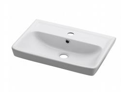 Dřevojas - MINI 60 keramické umyvadlo - BÍLÉ (05583)