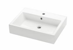 Dřevojas - Keramické umyvadlo Kube 60 - bílé (05910)