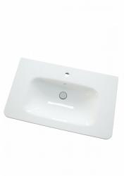 Dřevojas - DURASTYLE 80 keramické umyvadlo - BÍLÉ (05859)