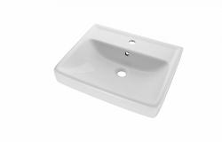 Dřevojas - Q 55 keramické umyvadlo - BÍLÉ (05521)