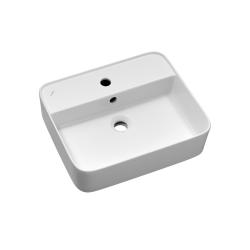 Dřevojas - Keramické umyvadlo Joy 2 - bílé (002107)