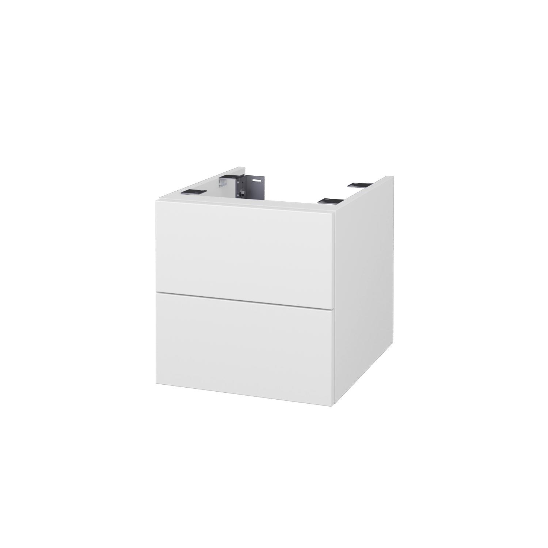 Dřevojas Doplňková skříňka pod desku DSD SZZ2 40, s výřezem (výška 40 cm) D01 Beton / D01 Beton 224240