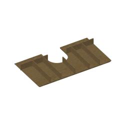 Dřevojas - Pořadač horní zásuvky Q80 (002213)