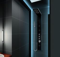 Aquatek - Hawai Hydromasážní sprchový panel s vodopádem, baterie termostatická (Hawai-25)