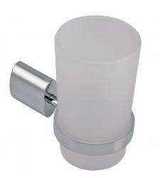 NOVASERVIS - Držák kartáčků a pasty sklo Metalia 10 chrom (0006,0)