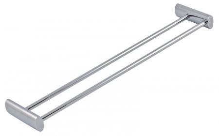 NOVASERVIS - Dvojitý držák ručníků 575 mm Metalia 10 chrom (0025,0)