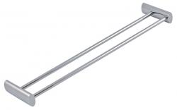 NOVASERVIS - Dvojitý držák ručníků 575 mm Metalia 10 chrom (0025,0), fotografie 2/1