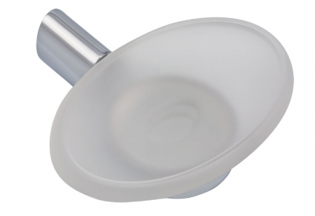 NOVASERVIS - Mýdlenka sklo Metalia 10 chrom (0036,0)