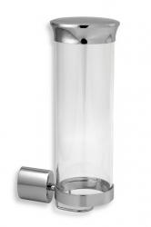 NOVASERVIS - Zásobník na kosmetické tampony sklo Metalia 10 chrom (0072,0), fotografie 2/1