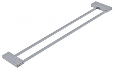 NOVASERVIS - Dvojitý držák ručníků 600 mm Metalia 9 chrom (0925,0)