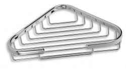 NOVASERVIS - Rohová polička malá Metalia Drátěný program chrom (6065,0), fotografie 2/2
