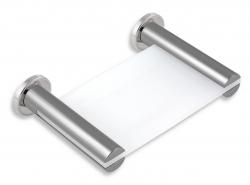 NOVASERVIS - Mýdlenka sklo Metalia 2 chrom (6236,0), fotografie 2/2