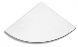 NOVASERVIS - Sklo rohové poličky čiré (6335,X), fotografie 2/1