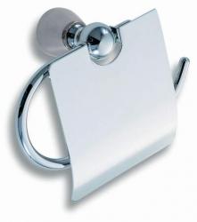 NOVASERVIS - Závěs toaletního papíru s krytem Metalia 3 chrom (6338,0), fotografie 4/3