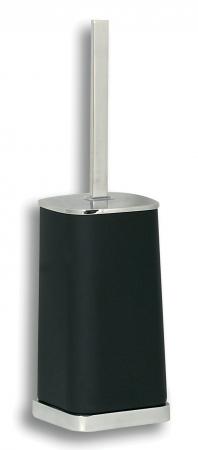 NOVASERVIS - WC štětka Metalia 4 černá-chrom (6433,5)