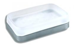 NOVASERVIS - Mýdlenka sklo Metalia 4 chrom (6436,0), fotografie 4/3
