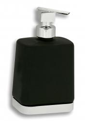 NOVASERVIS - Dávkovač mýdla Metalia 4 černá-chrom (6450,5), fotografie 2/1