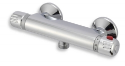 Sprchová termostatická baterie 150 mm Aquamat chrom (2660/1,0) - NOVASERVIS