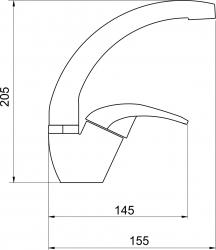 NOVASERVIS - Umyvadlová dřezová baterie Metalia 57 chrom (57016,0), fotografie 4/2