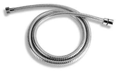 NOVASERVIS - Sprchová hadice kovová dvouzámková chrom 150cm (H/7000,0)