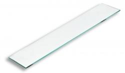 Sklo poličky rovné čiré (0940,X) - NOVASERVIS