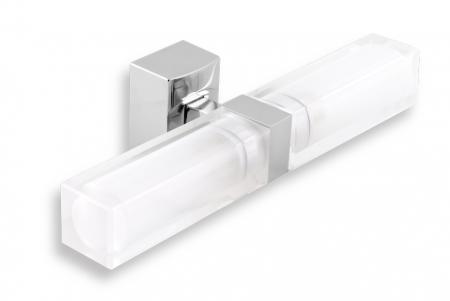 NOVASERVIS - Dvojité koupelnové světlo hranaté chrom (0205,0)