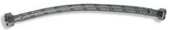 """NOVASERVIS - Nerezová hadička M3/8"""" x M3/8"""" -40cm (101/40), fotografie 2/2"""
