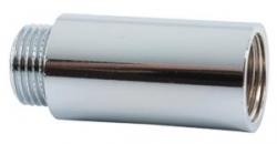 """NOVASERVIS - Prodloužení chromované 1/2""""x100mm (FT219/15100), fotografie 2/2"""