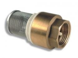"""NOVASERVIS - Zpětná klapka s nerezovým filtrem 1"""" (JY502/25), fotografie 2/2"""