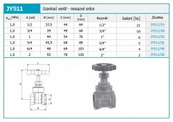 """NOVASERVIS - Uzavírací ventil 2"""" (JY511/50), fotografie 4/2"""