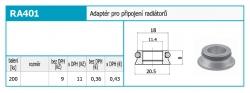 NOVASERVIS - Adaptér pro připojení radiatorů (RA401), fotografie 4/2