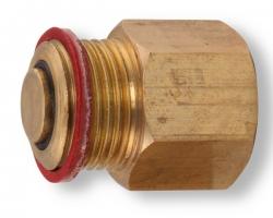 """NOVASERVIS - Zpětná klapka k odvzdušňovacímu ventilu 3/8"""" (RA603/10), fotografie 2/2"""
