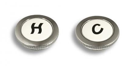NOVASERVIS - Označovač vody CLASSIC chrom (TS/CLAS,0)