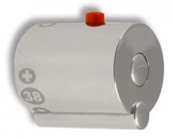 NOVASERVIS - Rukojeť termostatu chrom (R/2500T,0), fotografie 2/1