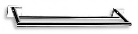 NOVASERVIS - Dvojitý držák ručníků 450 mm Titania Elis chrom (66424,0)