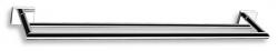 NOVASERVIS - Dvojitý držák ručníků 600 mm Titania Elis chrom (66425,0), fotografie 2/2