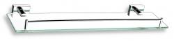 NOVASERVIS - Polička se zábradlím Titania Elis chrom (66453,0)