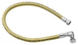 """NOVASERVIS - Plynová připojovací hadice s kolínkem 1/2"""" MM-2m (WGK2000), fotografie 2/1"""