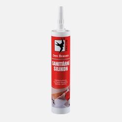 Tmel Sanitární silikon Bílý, DenBraven, 310ml kartuše 30212RL (30212RL) - DEN BRAVEN