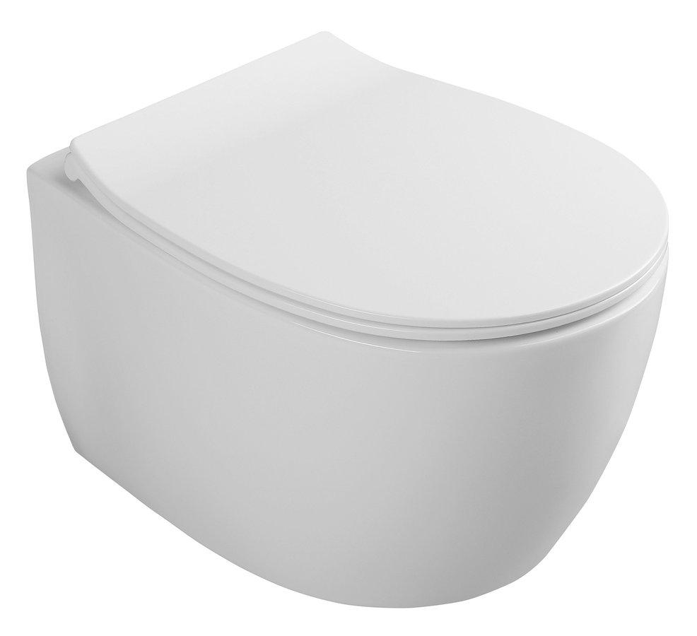 ISVEA SENTIMENTI WC závěsné 36x50cm ,Smartfixplus 10AR02008